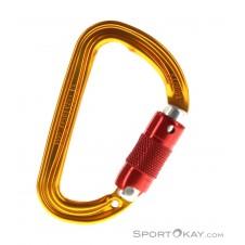 Petzl Sm'D Safe Lock Karabiner-Orange-One Size