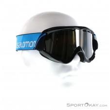 Salomon Juke Kinder Skibrille-Schwarz-One Size