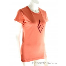 Black Diamond Brushstroke Tee SS Damen T-Shirt-Pink-Rosa-XS