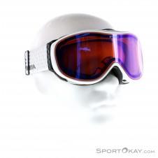 Alpina Challenge 2.0 QM Skibrille-Weiss-One Size