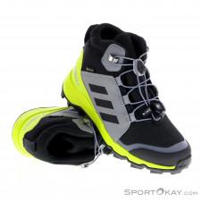 adidas Terrex Mid GTX Kinder Traillaufschuhe Gore-Tex-Schwarz-34