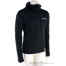 adidas Terrex TX Flooce HD Herren Sweater-Schwarz-M