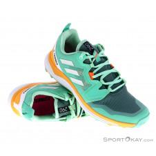 adidas Terrex Agravic Damen Traillaufschuhe-Türkis-4,5