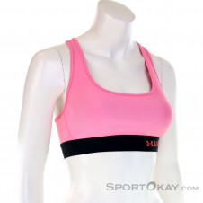 Under Armour Mid Crossback Damen Sport-BH-Pink-Rosa-XS