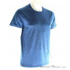Houdini Activist Message Tee Herren T-Shirt-Blau-M