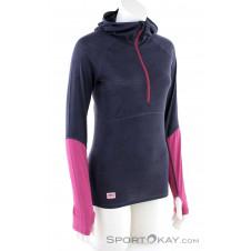 Mons Royale Bella Tech Hood Damen Tourensweater-Grau-M