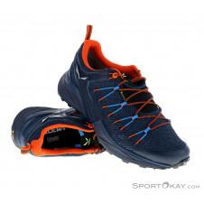 Salewa Dropline GTX Herren Traillaufschuhe Gore-Tex-Blau-8,5