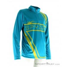 Spyder Boy's Bugcentric Dry W.E.B. T-Neck Jungen Shirt-Blau-S