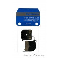Shimano H03C Saint Zee Resin Bremsklötze-Schwarz-One Size