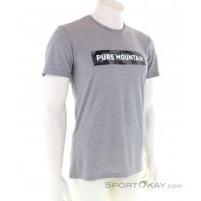 Salewa Camou Brand Dry Herren T-Shirt-Grau-46