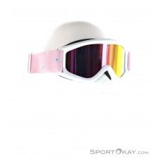 Alpina Carat MM Kinder Skibrille-Weiss-One Size