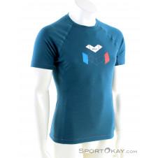 Millet Trilogy Wool Hexa SS Herren T-Shirt-Blau-S