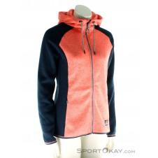 O'Neill Hoodie Piste Damen Skisweater-Orange-XS