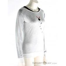 Chillaz Serles Hirschkrah Damen Shirt-Grau-34