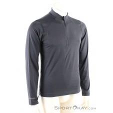 Asics LS Jersey 1/2 HZ Jersey Herren Shirt-Grau-M