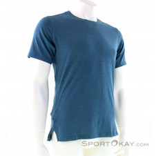 On Comfort-T Herren T-Shirt-Blau-S