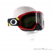 Oakley O-Frame 2.0 MX Heritage Racer Goggle Downhillbrille-Rot-One Size