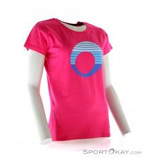 SportOkay.com Stripe Logo Damen Freizeitshirt-Pink-Rosa-XS