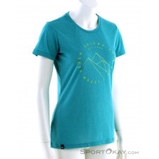 Salewa Alta Via Drirelease SS Damen T-Shirt-Blau-34