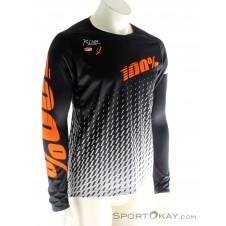 100% R-Core DH Jersey LS Bikeshirt-Schwarz-M
