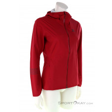 Salomon Lightning WP Damen Laufjacke-Rot-S