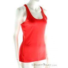 Under Armour HeatGear Racer Tank Damen Fitnessshirt-Rot-S