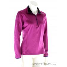 Salomon Discovery 1/2 Zip Damen Skisweater-Pink-Rosa-XS