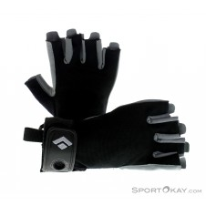 Black Diamond Crag Halbfinger Handschuhe-Schwarz-XS
