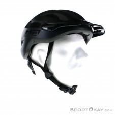 Met Crossover Bikehelm-Schwarz-One Size