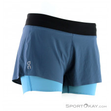 On Running Shorts Damen Laufshorts-Blau-S