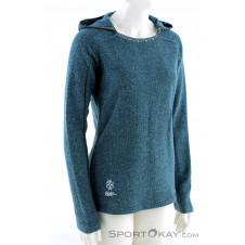 Chillaz Bergamo Ornament Logo Damen Sweater-Blau-34