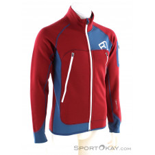 Ortovox Fleece Plus Jacket Herren Tourensweater-Rot-XXL