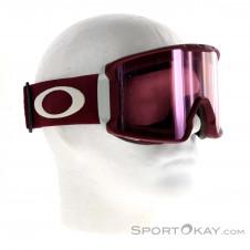Oakley Line Miner Prizm Skibrille-Rot-One Size