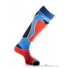 Ortovox Ski Rock'n Wool Sock Herren Socken-Blau-39-41