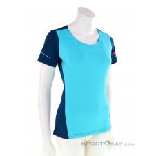 Dynafit Alpine SS Damen T-Shirt-Blau-34