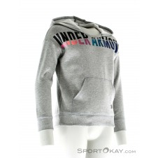 Under Armour Favourite Hoody Mädchen Trainingssweater-Grau-M