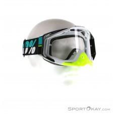 100% Racecraft Anti Fog Clear Lens Downhillbrille-Türkis-One Size