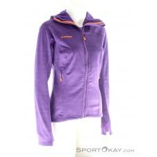 Mammut Eiswand Guide ML Hooded Jacket Damen Tourensweater-Lila-XS