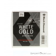 Black Diamond White Gold Pure Chalk Block 56g Kletterzubehör