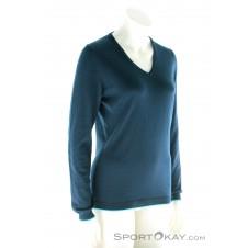 CMP Knitted Pullover Damen Freizeitsweater-Blau-34