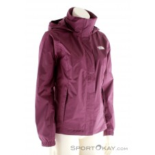 The North Face Resolve 2 Jacket Damen Outdoorjacke-Lila-XS