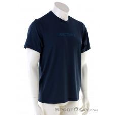 Arcteryx Remige Word SS Herren T-Shirt-Blau-S