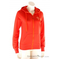 CMP FZ Hoodie Damen Freizeitsweater-Rot-36