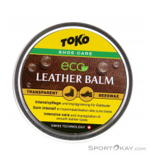 Toko Eco Leather Balm 50ml Schuhpflege-Gelb-One Size