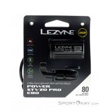 Lezyne Power StVZO E80 Frontleuchte-Schwarz-One Size