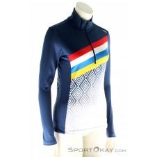 CMP Sweat HZ Damen Skisweater-Blau-34