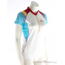 La Sportiva Speed Shirt Damen T-Shirt-Weiss-XS