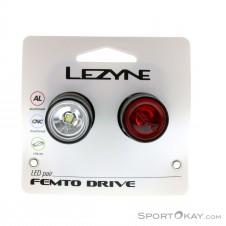 Lezyne Femto Drive Set Fahrradbeleuchtung-Schwarz-One Size