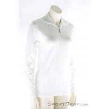 Löffler Transtex Zip-Rolli Basic Damen Laufsweater-Weiss-34