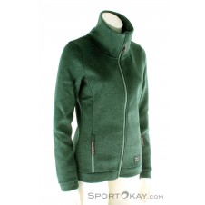 O'Neill Fleece Piste Damen Outdoorsweater-Grün-M